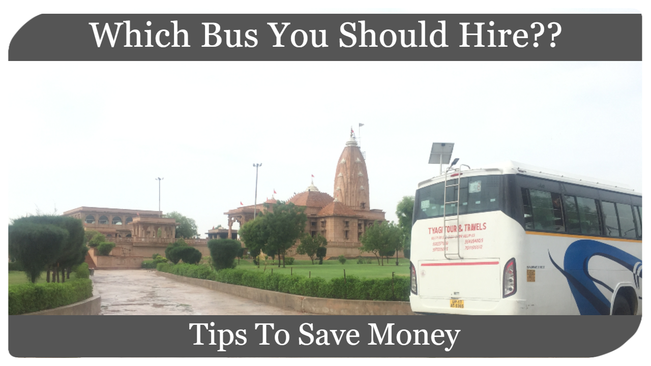 Bus Hire In Delhi Noida