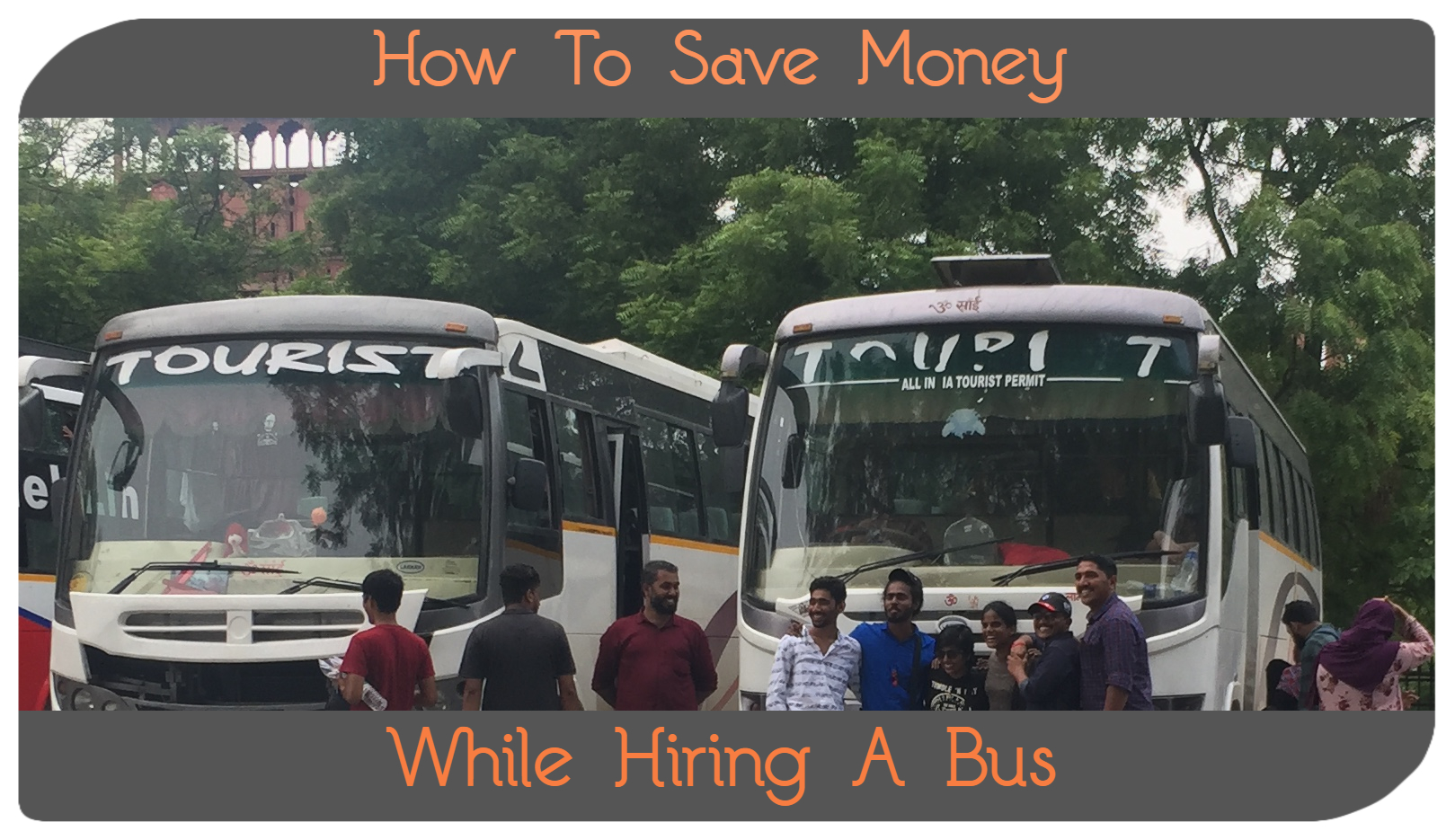 Bus on rent in delhi
